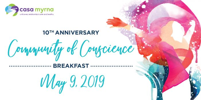 10th Anniversary Community of Conscience Breakfast, May 9, 2019